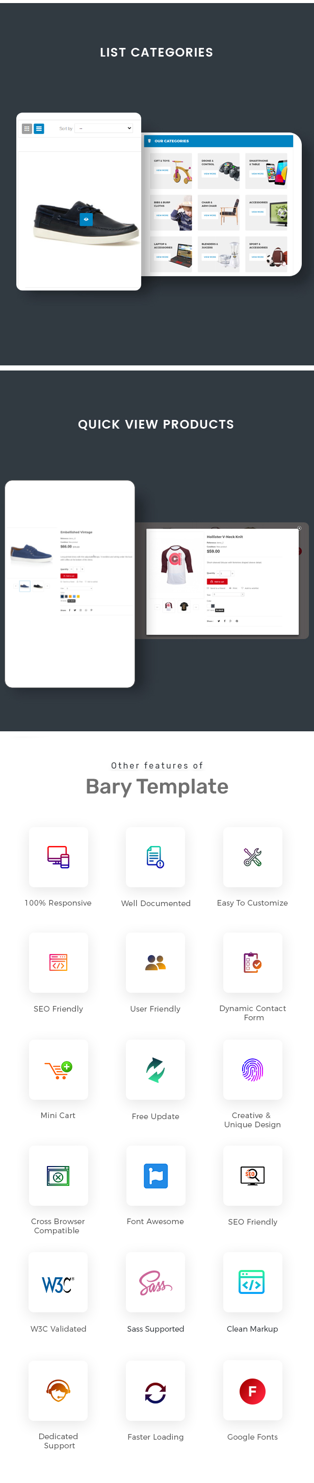 Bary - Responsive eCommerce HTML Template - 2