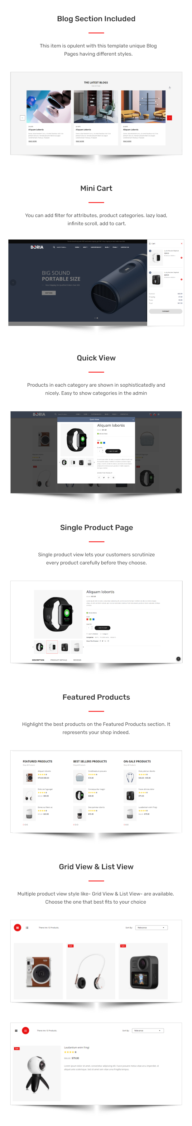 Boria - Multipurpose Responsive eCommerce HTML Template - 2