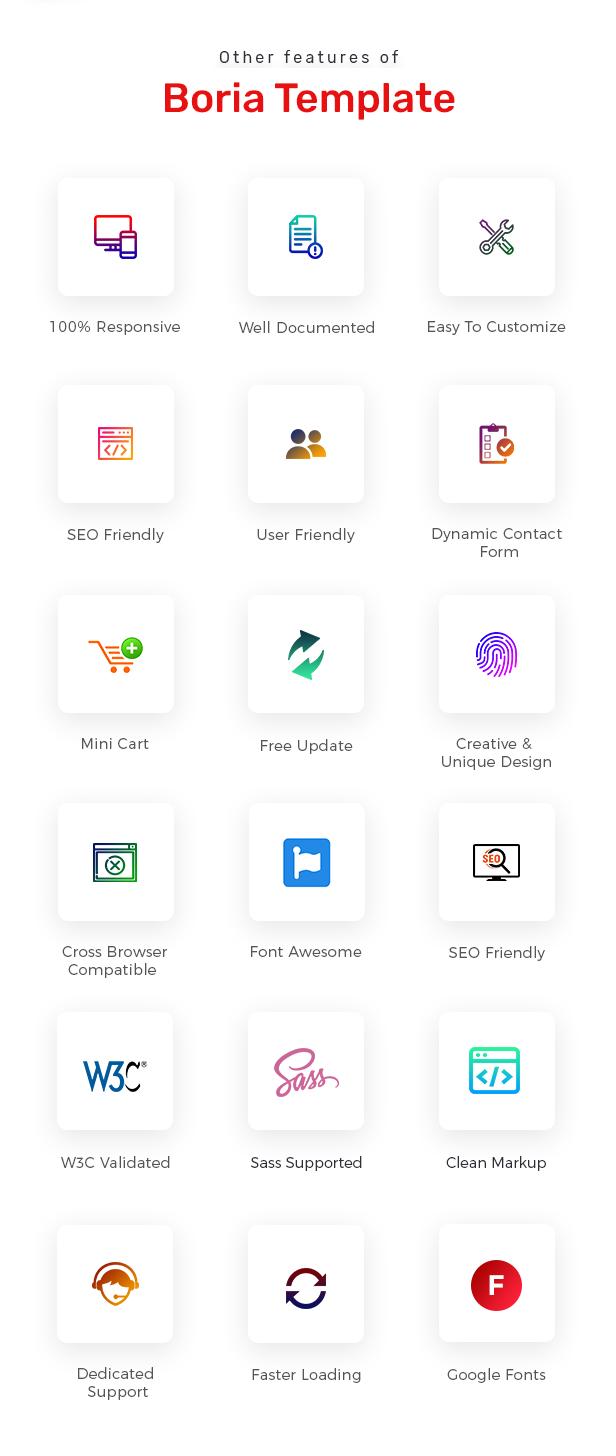 Boria - Multipurpose Responsive eCommerce HTML Template - 3