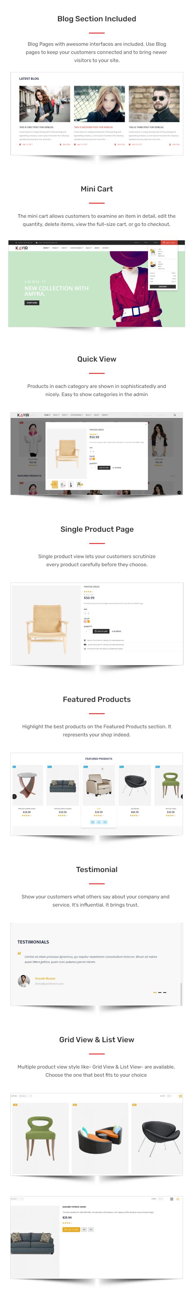 Kavir - eCommerce HTML Template - 2