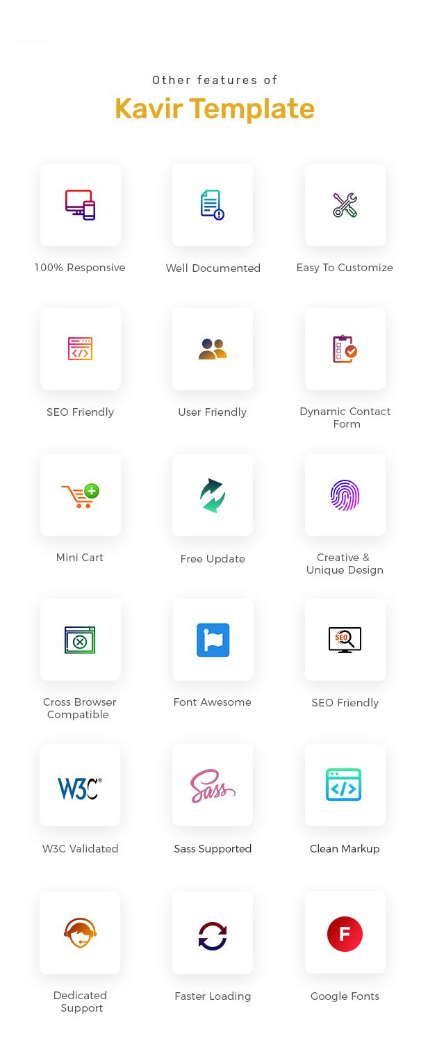 Kavir - eCommerce HTML Template - 3