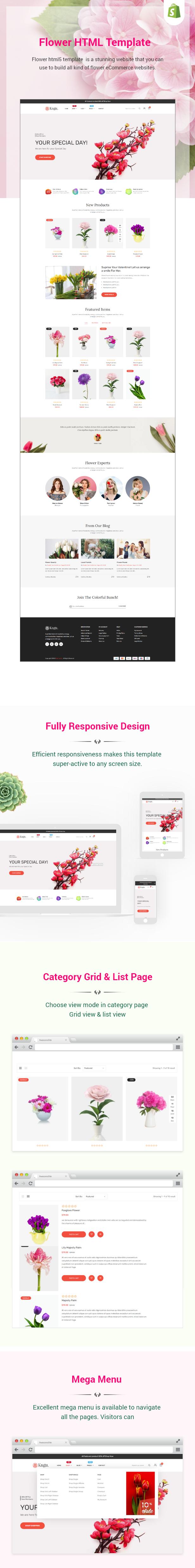 Kngu - Flower HTML Bootstrap 5 Template - 1