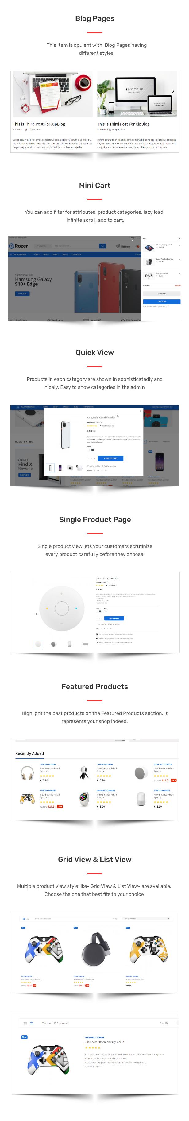 Rozer – Electronics eCommerce HTML5 Template - 2