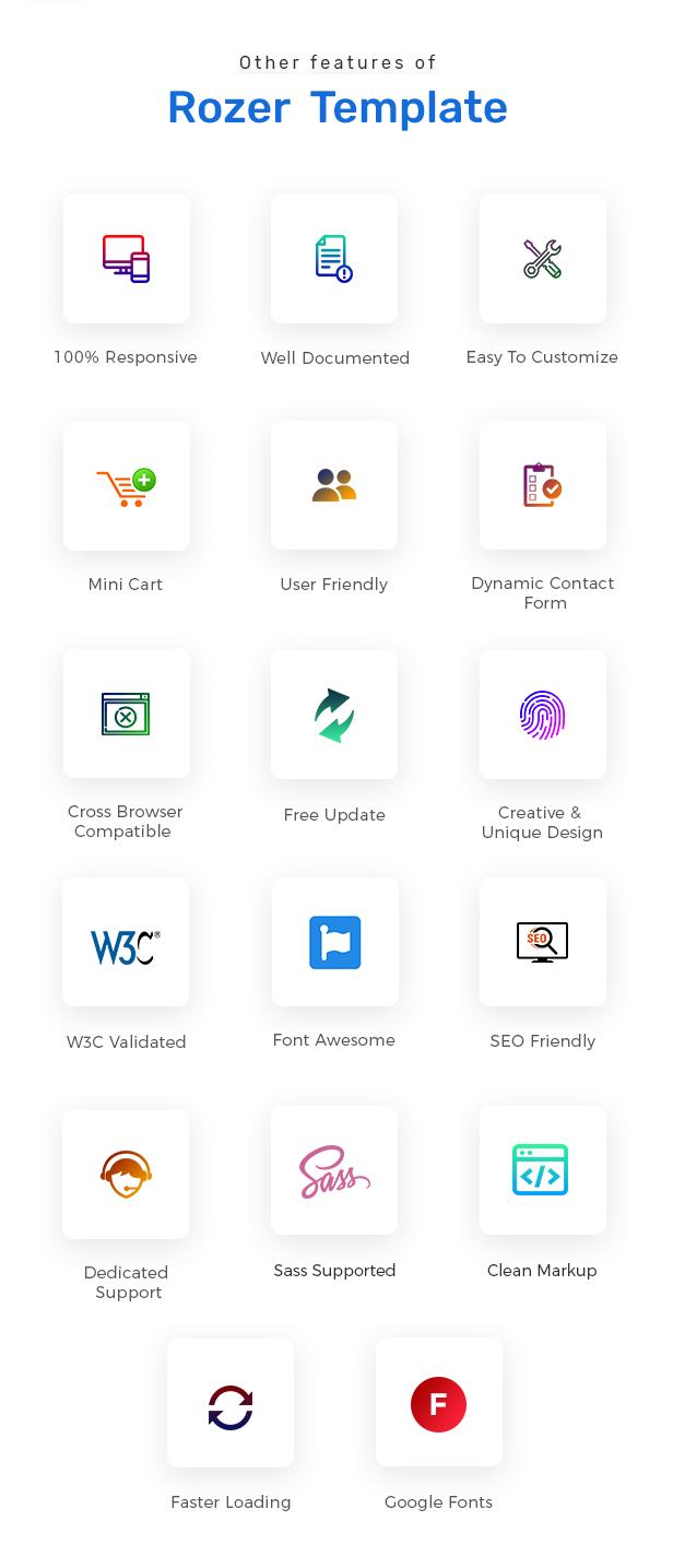 Rozer – Electronics eCommerce HTML5 Template - 3